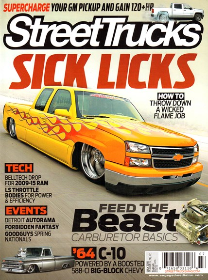 Street Trucks Cover - 7/1/2015