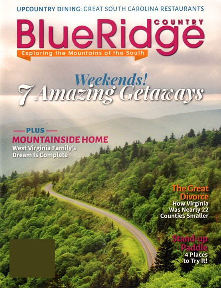 Blue Ridge Country Cover - 7/1/2015