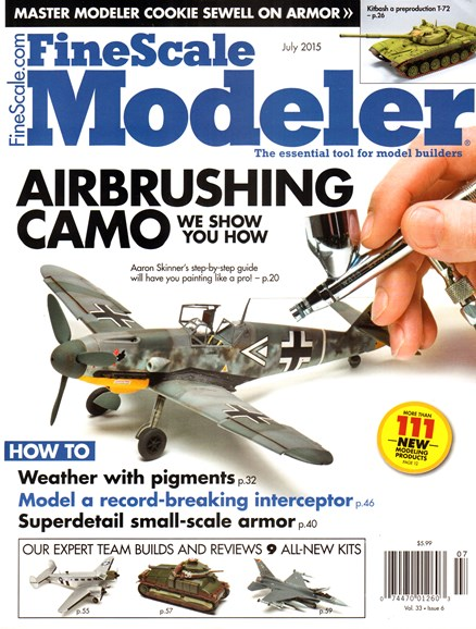 Finescale Modeler Cover - 7/1/2015