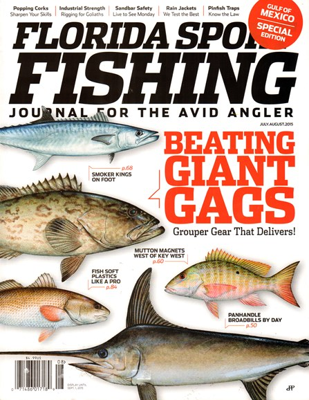 Florida Sport Fishing Cover - 7/1/2015