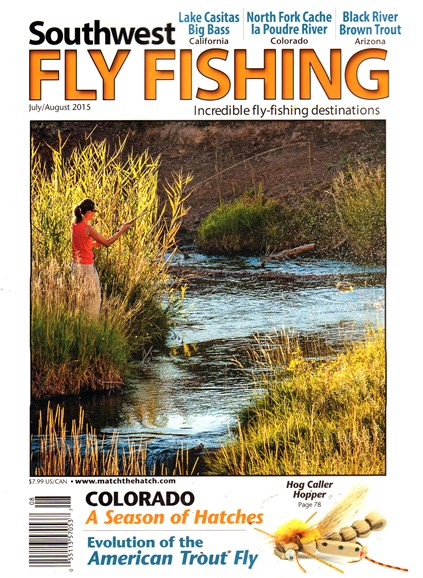 Southwest Fly Fishing Cover - 7/1/2015
