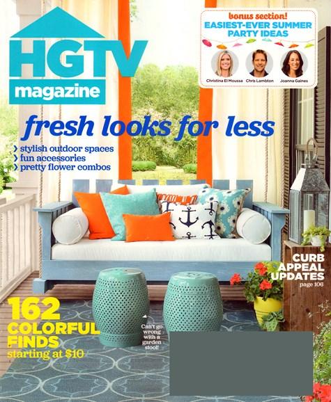 HGTV Cover - 7/1/2015