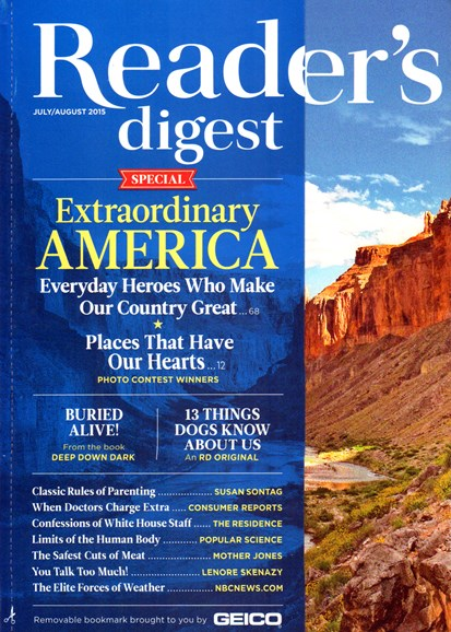 Reader's Digest Cover - 7/1/2015