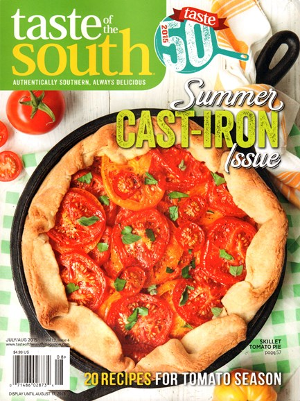 Taste of the South Cover - 7/1/2015