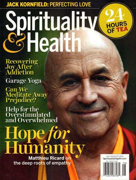 Spirituality & Health Cover - 7/1/2015