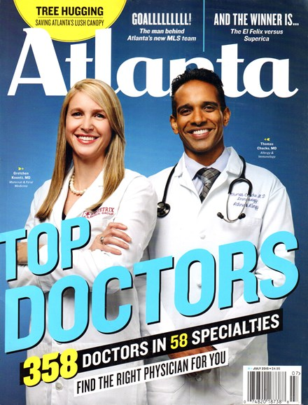 Atlanta Magazine Cover - 7/1/2015