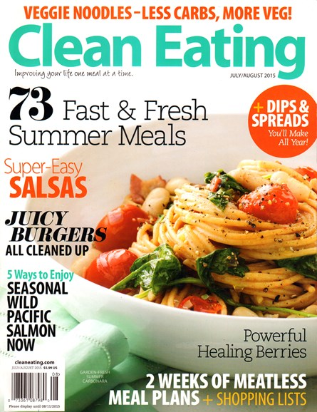Clean Eating Cover - 7/1/2015