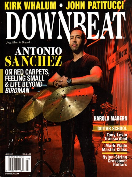DownBeat Cover - 7/1/2015
