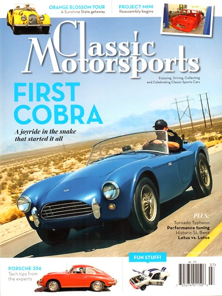 Classic Motorsports Cover - 7/1/2015