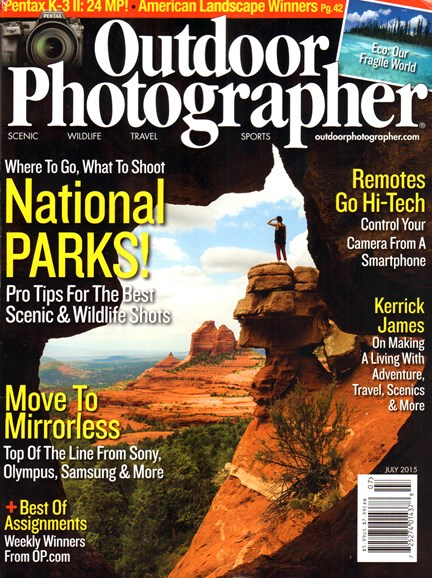 Outdoor Photographer Cover - 7/1/2015