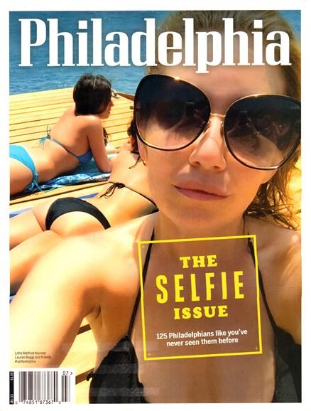 Philadelphia Magazine Cover - 7/1/2015
