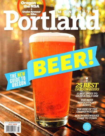 Portland Monthly Cover - 7/1/2015