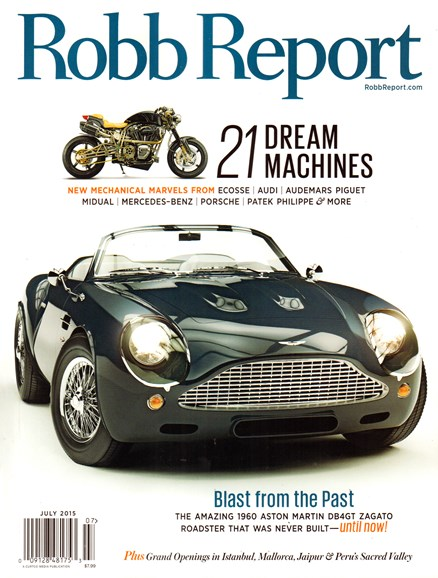 Robb Report Cover - 7/1/2015