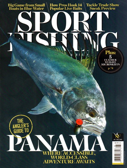 Sport Fishing Cover - 7/1/2015