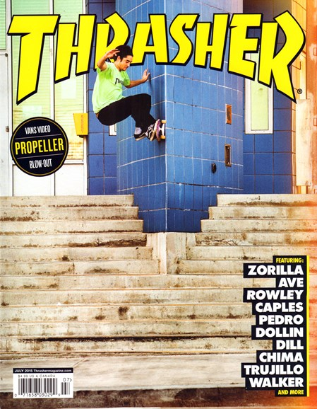 Thrasher Cover - 7/1/2015