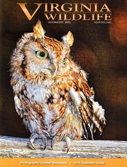 Virginia Wildlife Cover - 7/1/2015