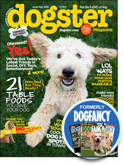 Dogster Cover - 4/1/2015