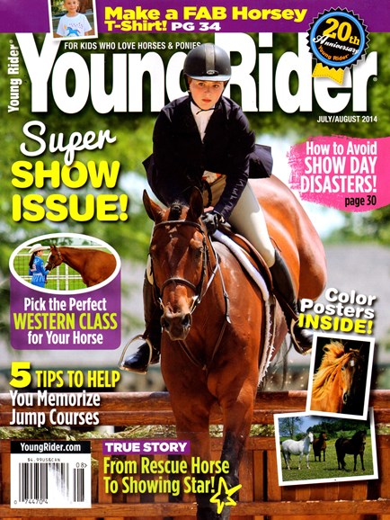 Young Rider Cover - 7/1/2014