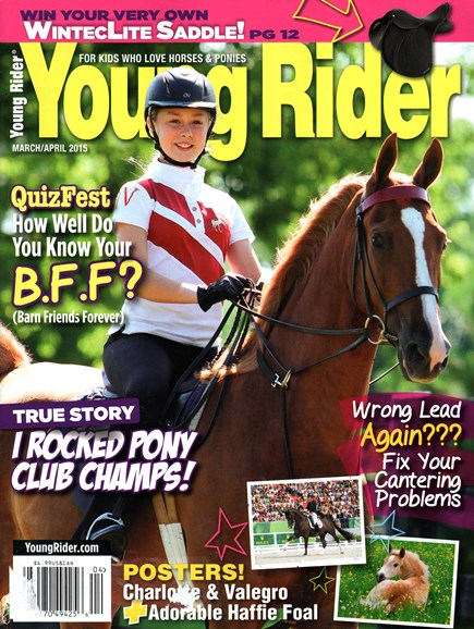 Young Rider Cover - 3/1/2015