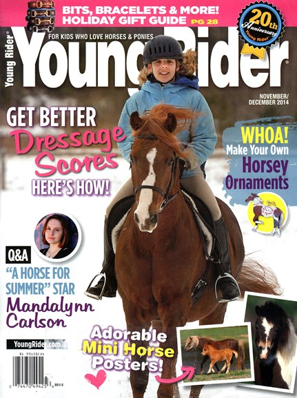 Young Rider Cover - 11/1/2014