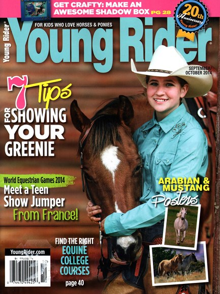 Young Rider Cover - 9/1/2014