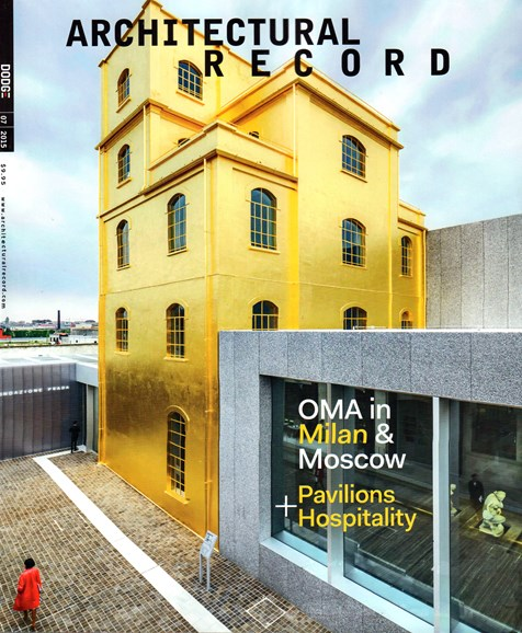 Architectural Record Cover - 7/1/2015