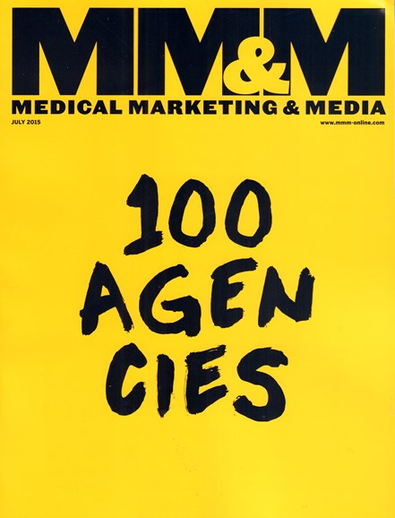 Medical Marketing & Media Cover - 7/1/2015
