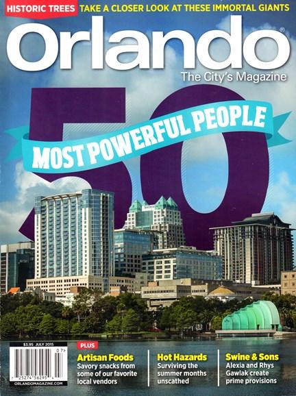 Orlando Magazine Cover - 7/1/2015