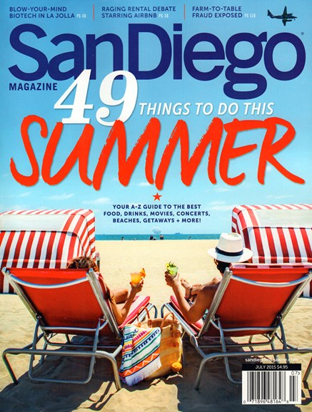 San Diego Cover - 7/1/2015