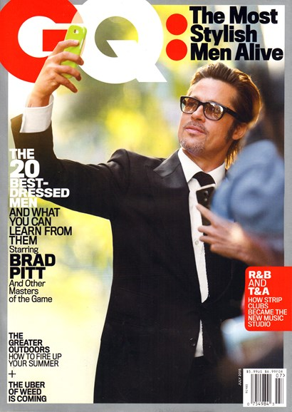 Gentlemen's Quarterly - GQ Cover - 7/1/2015