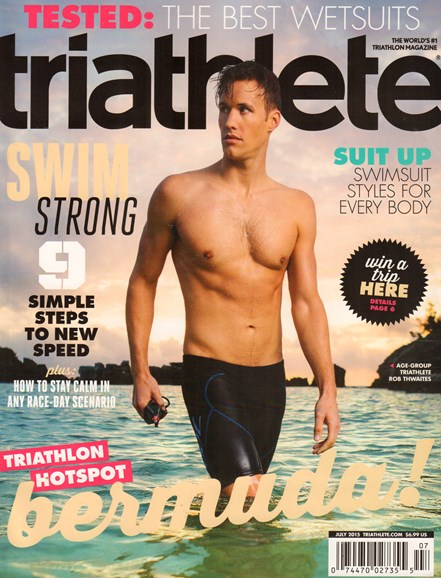 Triathlete Cover - 7/1/2015