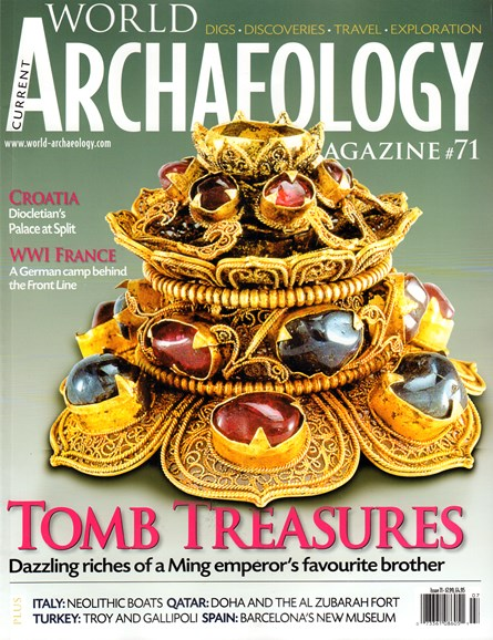 Archaeology Cover - 6/1/2015