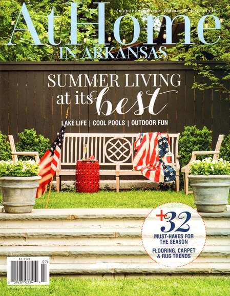 At Home In Arkansas Cover - 7/1/2015