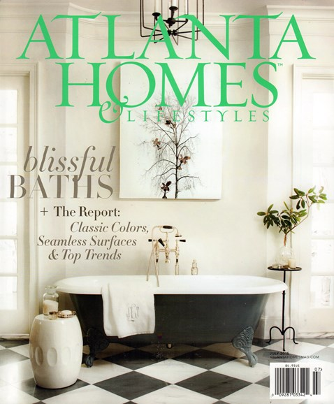 Atlanta Homes & Lifestyles Cover - 7/1/2015