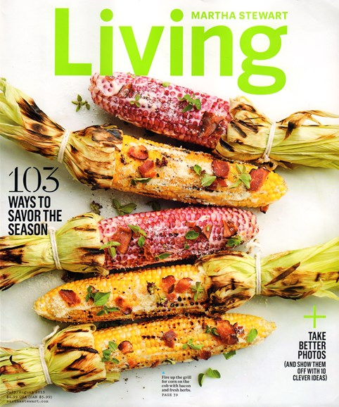 Martha Stewart Living Cover - 7/1/2015