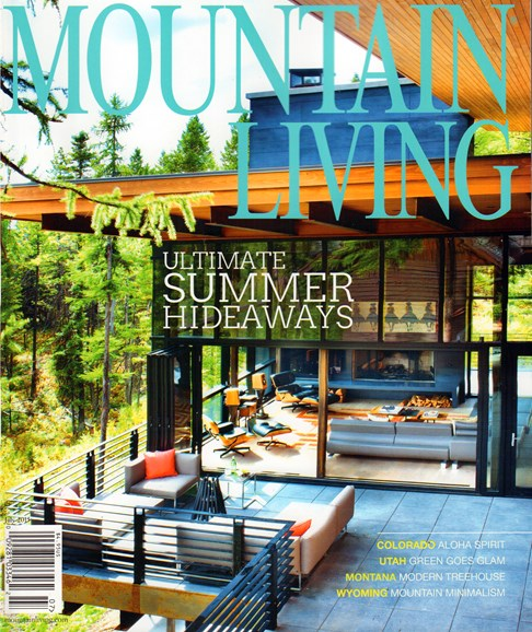 Mountain Living Cover - 7/1/2015