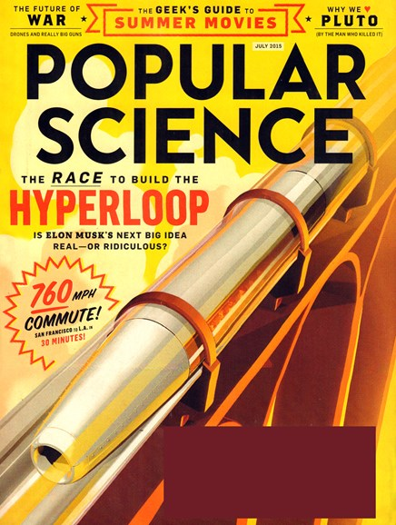 Popular Science Cover - 7/1/2015
