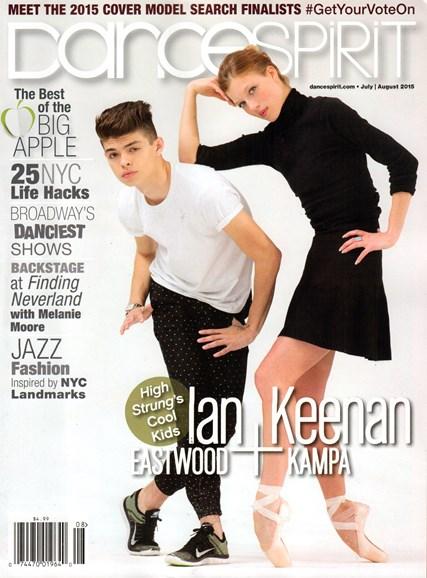 Dance Spirit Cover - 7/1/2015