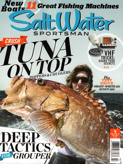 Salt Water Sportsman Cover - 7/1/2015