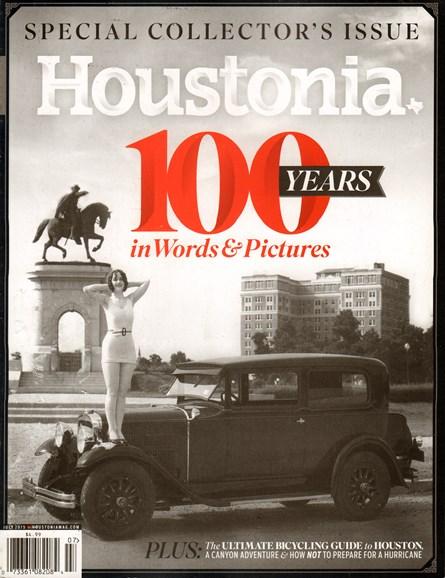 Houstonia Cover - 7/1/2015
