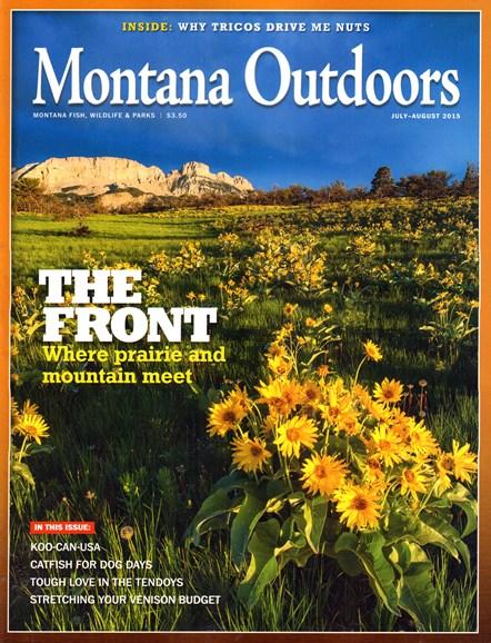 Montana Outdoors Cover - 7/1/2015