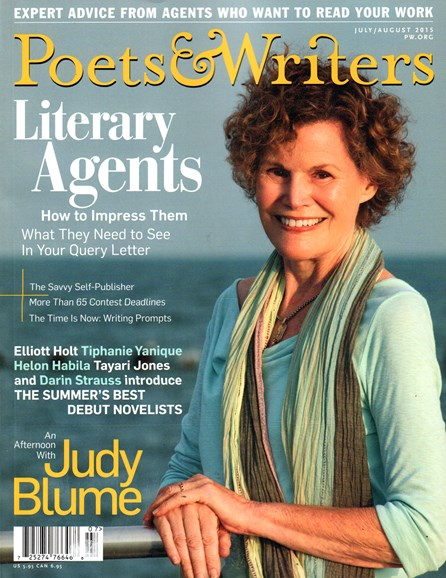 Poets & Writers Cover - 7/1/2015