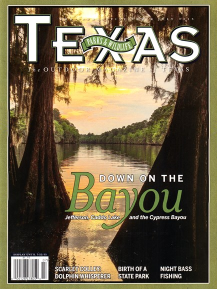 Texas Parks & Wildlife Cover - 7/1/2015