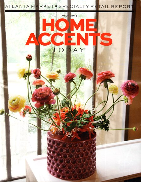 Home Accents Today Cover - 7/1/2015