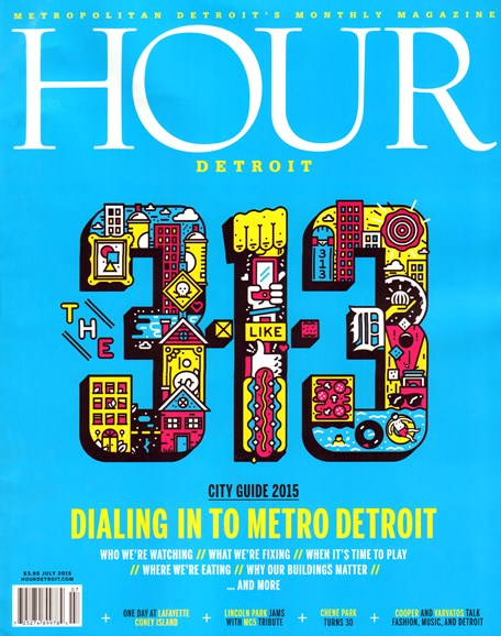 Hour Detroit Cover - 7/1/2015