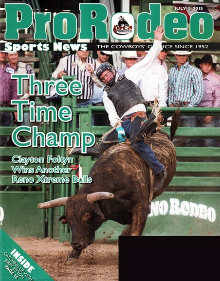 Pro Rodeo Sports News Cover - 7/3/2015