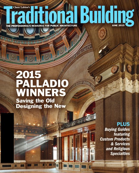 Traditional Building Cover - 6/1/2015