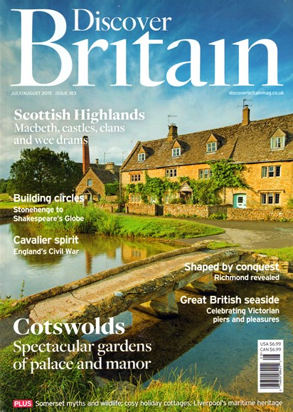 Discover Britain Cover - 7/1/2015