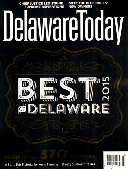 Delaware Today Cover - 7/1/2015