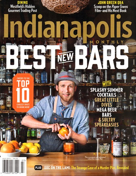 Indianapolis Monthly Cover - 7/1/2015
